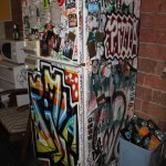 the fridge... art in itself