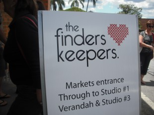 Finders keepers sign