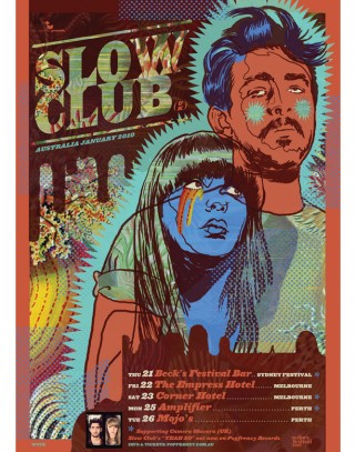 we buy your kids band poster for slow club